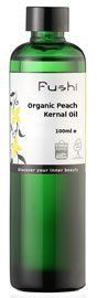 Peach Kernal Oil, Organic 100ml(3.52oz) by Fushi Wellbeing. $20.12. Peach kernel oil is used often in aromatherapy, cosmetics and massage because of the attributes of the oil. Rich in vitamin A and E, it is a light, non-greasy oil and highly emollient oil that is very nourishing to dry skin. Peach kernel oil is hypo-allergenic, so it is an ideal oil for those with sensitive skin. Pleasant to use, it is quite easily absorbed, has good penetration and leaves little...