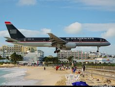 Amazing Look World : The airport where the runway is by a beach