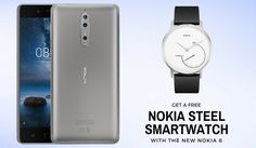 Nokia 8 Pre-orders in the UK Come with a Free Nokia Steel Smartwatch  More Info: phoneradar.com/nokia-8-pre-orders-uk-come-free-nokia-steel-smartwatch #fashion #style #stylish #love #me #cute #photooftheday #nails #hair #beauty #beautiful #design #model #dress #shoes #heels #styles #outfit #purse #jewelry #shopping #glam #cheerfriends #bestfriends #cheer #friends #indianapolis #cheerleader #allstarcheer #cheercomp  #sale #shop #onlineshopping #dance #cheers #cheerislife #beautyproducts…