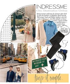 """Goodbye, New York. *Contest with Indressme"" by martbee ❤ liked on Polyvore"