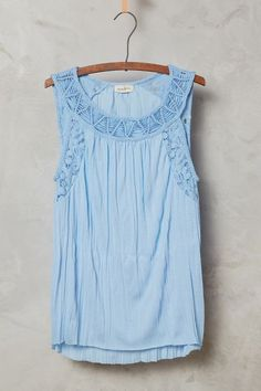 Shoestring Lace Tank - anthropologie.com