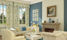 Лучший Обои в стиле Прованс: Правила оформления комнат (150+ Фото). Как сделать интерьер действительно французским?