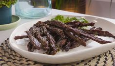 South African Biltong | Good Chef Bad Chef High Protein Recipes, Protein Foods, Biltong, How To Cook Beef, Beef Ribs, Best Chef, Slow Food, Appetizer Dips, Appetisers