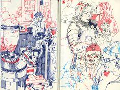 Magic Square: Sketchbook Feb-June 2016 on Behance