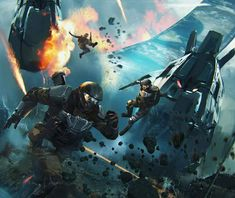 Feet First into hell Halo 3 Odst, Halo 2, Halo Reach, Armor Concept, Concept Art, Gundam, Fantasy, Halo Armor, Halo Spartan