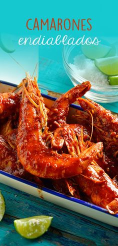 Prepare this rich recipe for devilish shrimp. They have a delicious flavor and it is quick, simple and ideal to share with the family. Fish Recipes, Seafood Recipes, Mexican Food Recipes, Cooking Recipes, Healthy Recipes, Traditional Mexican Food, Mexico Food, Good Food, Yummy Food