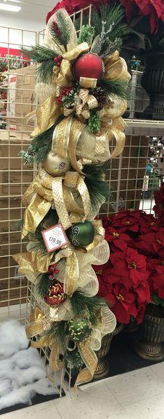 christmas door garland by ng - Michaels Christmas Garland