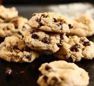 τραγανά μπισκότα σοκολάτας