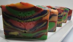FRUIT LOOPS Handmade Soap Shea and Cocoa Butter by TheSoapNut