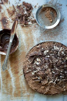 Double Chocolate Mousse Tart - Foodness Gracious