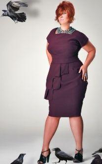 Flapping Grace Dress-Plus Size-by Jibri