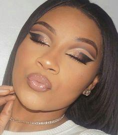 Black girl eye makeup
