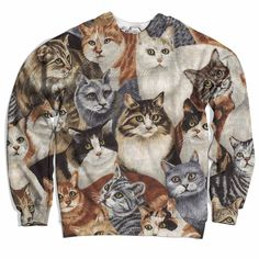Cat Bunch Sweater