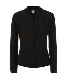 View the Ribbed Knitted Jacket
