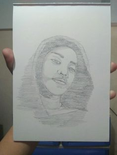 sketch/portrait/pencil/grahitepencil/drawing/aesthetic/drawings/pencilsketch/ Sketches, Portraits, Draw, Female, Drawings, Head Shots, To Draw, Doodles, Portrait Photography