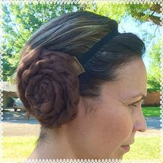 These Star Wars running buns are designed especially for costumed princess runs but of course can be worn for dress up. These are adult sized and