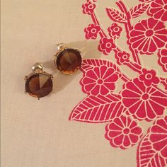Mocha Brown Earrings Classic earrings for a business casual look or a night out. Jewelry Earrings