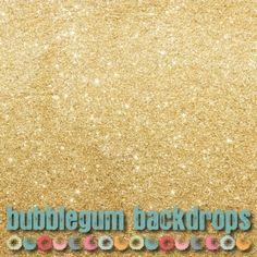 "Gold Glitter Backdrop 84"" x 96"" - $136.08"