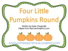 Help your preschoolers celebrate Fall with the following three rhymes, written by me. I have created a printable booklet to accomp...