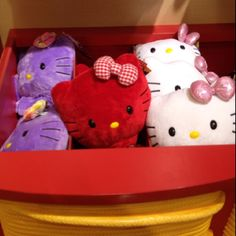 Hello Kitty @ Build-A-Bear.  I am still looking for the pink one