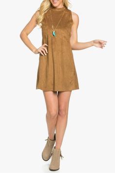 The Side Cutout Dress is a perfect night out dress. The suede material makes this dress soft to the touch. The dress features two cut outs on each side. Pair this dress with booties and a long necklace.    Side Cutout Dress by Wishlist. Clothing - Dresses New Jersey