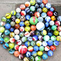 Vintage Marbles Lot of 40 Vintage Marbles Vintage by timepassages, $16.00
