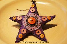 Bijou's Whimsy: Felt Fun & Whimsy...  kids can make these stars