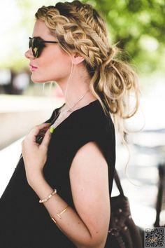 17. #Multi-Style Braids - 29 Chic Boho Hair Styles Your Hair #Wants Now ... → Hair #Braids