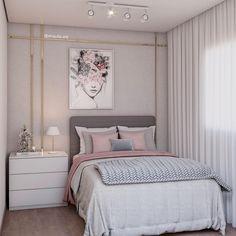 Girly Bedroom Decor, Bedroom Decor For Teen Girls, Room Design Bedroom, Home Room Design, Small Room Bedroom, Dream Home Design, Bedroom Photos, Aesthetic Bedroom, Beautiful Bedrooms