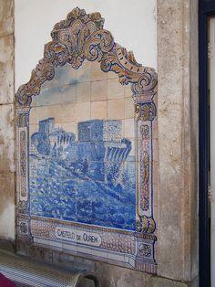 Painel de Azulejos: Castelo de Ourém - Santarém | Flickr – Compartilhamento de fotos!