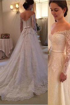 Boho Vestidos do casamento de praia 2020 Cap A Linha Lace apliques V Neck mangas Bohemian Vestido de cristal Belt Magro saia plissados vestido
