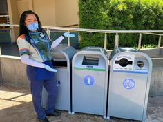 After recently announcing the goal of achieving zero waste to landfill by 2030, Disneyland Resort has introduced a new way for guests to help reduce waste in the parks: Disney World Resorts, Disney Parks, Walt Disney World, Reduce Waste, Zero Waste, Sustainable Companies, Living In Alaska, Disneyland Resort, Food Waste
