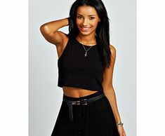 boohoo Amy Stretch Muscle Back Crop Top - black azz32113 Make your top a talking point with textures - think brocades, quilting and fluffy-feel. Jersey kinda gal? Shake it up with shapes. Crop tops get cutting edge in boxy, boyfriend fit shapes and shell to http://www.comparestoreprices.co.uk/womens-clothes/boohoo-amy-stretch-muscle-back-crop-top--black-azz32113.asp