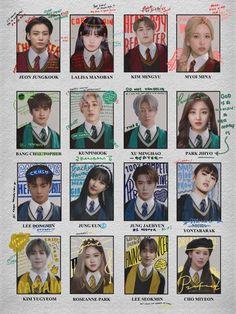 Kpop Girl Groups, Kpop Girls, Casas Do Harry Potter, Bts Poster, Cover Wattpad, Welcome To Hogwarts, Kpop Posters, K Wallpaper, Kpop Couples