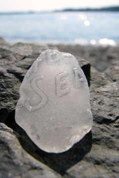 sea glass that knows