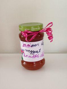 2014 - afscheidscadeau bijv voor leraar - 'jam'mer jam