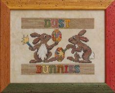 Dust Bunnies | Glendon Place | cross stitch pattern