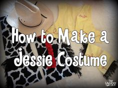 Create your Own Jessie Costume from Toy Story plus Join the Homemade Costume Parade! The Educators' Spin On It