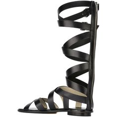 Michael Michael Kors 'Darby' sandals Papini (305 AUD) ❤ liked on Polyvore featuring shoes and sandals