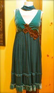 Velvet Romance Dress Energy and Peace Designs