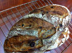 Rye. Cranberry. Walnut With rye sour dough By kitchen garden.co