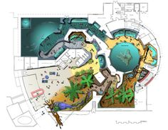 New Zeland National Aquarium Aquarium Architecture, Museum Architecture, Architecture Plan, Aquarium Design, Home Aquarium, Aquariums, Mon Zoo, Building Design Plan, Museum Plan