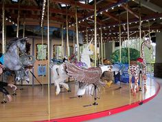 Tom Mankiewicz Conservation Carousel | Atlas Obscura
