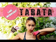 Tabata Live Workout zur Fettverbrennung - Training - Deutsch - Straffer Körper, dünne Beine - YouTube