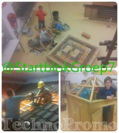 t Startblok Cuijk | Groep7  Heerlijk bouwvakkertje gespeeld bij TechnoPromo.