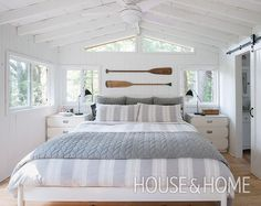 One of the most popular ways to give a space classic cottage style is to install shiplap panelling on the walls.   Photographer: Alex Lukey   Designer: Margot Austin