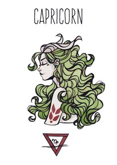 Items similar to SALE! Capricorn goddess postcard, Astrology, Star signs (First print run) on Etsy Zodiac Capricorn, Zodiac Art, Aquarius, Art Zodiaque, Zodiac Characters, Astrology Stars, Earth Signs, Zodiac Star Signs, Artwork