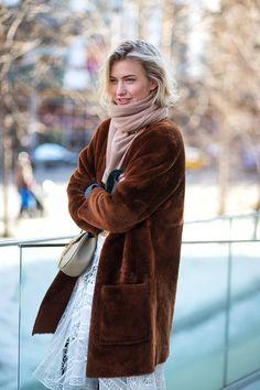 The Best New York Fashion Week Street Style: Fall 2015 Zanita Whittington   - HarpersBAZAAR.com