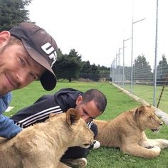 I'm sorry but WHAT?!? Kellan Lutz, THE Kellan Lutz, has worked with Black Jaguar White Tiger Foundation?? Why did I not know this until just this second?!?