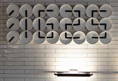 Cool Clock arrangement: jamie mitchell staat modern hotel interiors design
